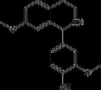 MHTP [2-methoxy-4-(7- methoxy-1,2,3,4-tetrahydroisoquinolin-1-yl) phenol]